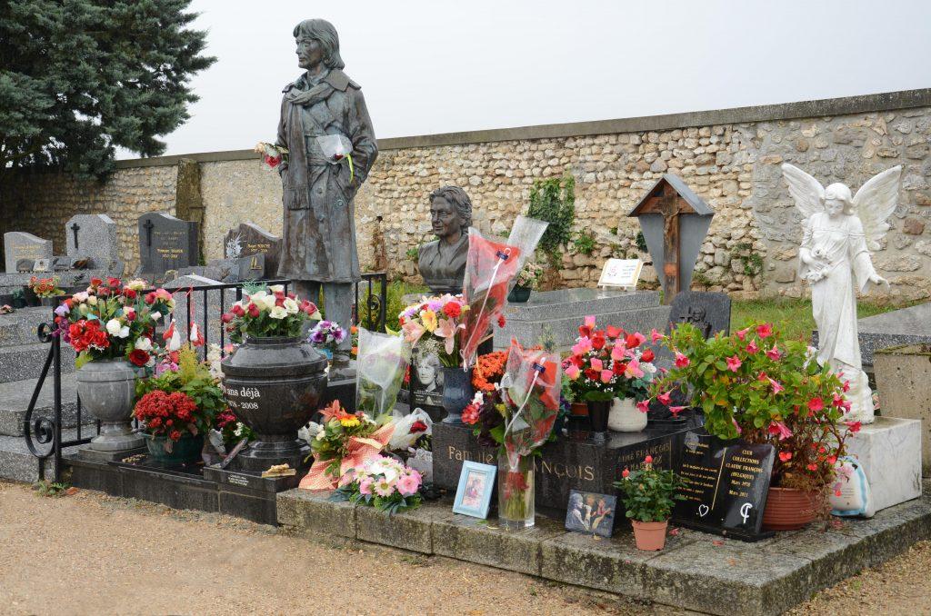 Le tombeau familial à Dannemois